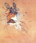 Henri  Toulouse-Lautrec Profile of a Woman oil painting picture wholesale