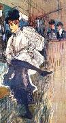 Henri  Toulouse-Lautrec Jane Avril Dancing oil painting picture wholesale