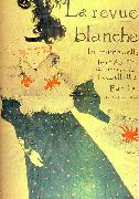 Henri  Toulouse-Lautrec La Revue Blanche oil painting picture wholesale