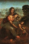 Leonardo  Da Vinci Virgin and Child with St Anne oil painting picture wholesale