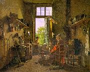 Martin  Drolling Interior of a Kitchen oil painting artist