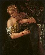 Paolo  Veronese Lucretia Stabbing Herself oil painting picture wholesale