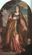Paolo  Veronese St Lucy and a Donor oil painting picture wholesale