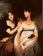 Sir Thomas Lawrence The Daughters of Colonel Thomas Carteret Hardy oil painting artist