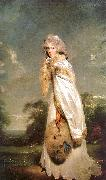 Sir Thomas Lawrence Elisabeth Farren, Later Countess of Derby oil painting artist