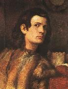 Titian Portrait of a Man oil painting artist