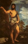 Titian St.John the Baptist oil painting picture wholesale