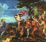 Titian Bacchus and Ariadne oil painting artist