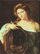 Titian Profane Love (Vanity) oil painting picture wholesale