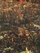 ALTDORFER, Albrecht The Battle of Alexander (detail)  vcvv oil painting artist