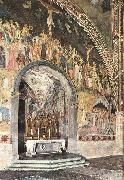 ANDREA DA FIRENZE Frescoes on the central wall oil painting picture wholesale