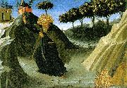 ANGELICO  Fra Saint Anthony the Abbot Tempted by a Lump of Gold oil painting picture wholesale