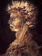 ARCIMBOLDO, Giuseppe The Fire jhjhjh oil painting artist