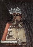 ARCIMBOLDO, Giuseppe The Librarian jj oil painting artist