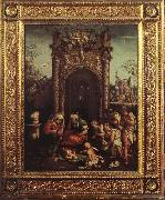 ASPERTINI, Amico Adoration of the Shepherds  fff oil painting artist