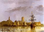 Aelbert Cuyp View of Dordrecht oil