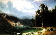 Albert Bierstadt Mount Corcoran oil painting picture wholesale