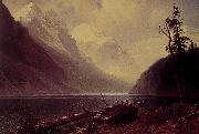Albert Bierstadt Lake Louise oil painting picture wholesale