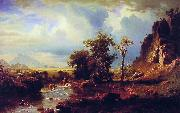 Albert Bierstadt North Fork of the Platte Nebraska oil painting picture wholesale