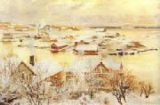 Albert Edelfelt December Day oil