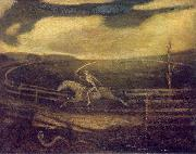 Albert Pinkham Ryder The Race Track oil
