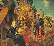 Albrecht Durer The Adoration of the Magi_z Sweden oil painting reproduction
