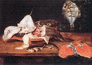 Alexander Still-Life with Fish oil