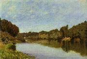 Alfred Sisley The Seine at Bougival oil