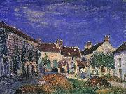 Alfred Sisley A Farmyard near Sablons oil painting picture wholesale