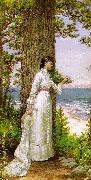 Alfred Thompson Bricher Under The Seaside Tree oil
