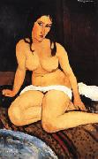 Amedeo Modigliani Draped Nude oil painting picture wholesale