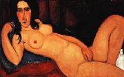Amedeo Modigliani Reclining Nude with Loose Hair Sweden oil painting artist