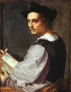 Andrea del Sarto Portrait of a Young Man oil painting artist