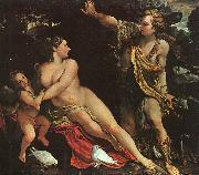 Annibale Carracci Venus, Adonis and Cupid Sweden oil painting artist
