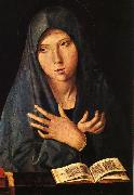 Antonello da Messina Virgin of the Annunciation oil painting artist