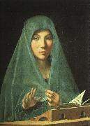 Antonello da Messina Virgin Annunciate oil painting artist