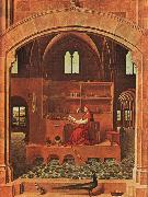 Antonello da Messina St.Jerome in his Study oil painting artist