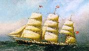 Antonio Jacobsen The British Ship Polynesian oil
