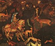 Antonio Pisanello The Vision of St.Eustace oil