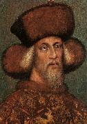 Antonio Pisanello Portrait of the Emperor Sigismund oil