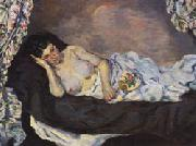 Armand Guillaumin Reclining Nude oil painting artist