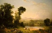 Asher Brown Durand Pastoral Landscape oil painting picture wholesale