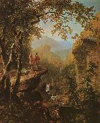 Asher Brown Durand Kindred Spirits oil