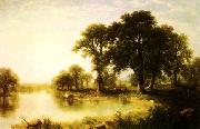 Asher Brown Durand Summer Afternoon oil painting picture wholesale