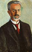 August Macke Portrait of Bernhard Koehler oil painting picture wholesale