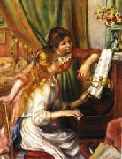 Auguste renoir Young Girls at the Piano oil painting picture wholesale