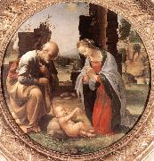 BARTOLOMEO, Fra The Adoration of the Christ Child nn oil