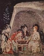 BASSA, Ferrer Three Women at the Tomb  678 oil