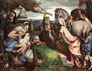 BASSANO, Jacopo The Three Magi ww oil painting picture wholesale