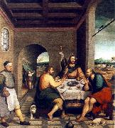 BASSANO, Jacopo Supper at Emmaus sf oil painting picture wholesale